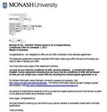 澳大利亚莫纳什大学银行与金融学硕士专业