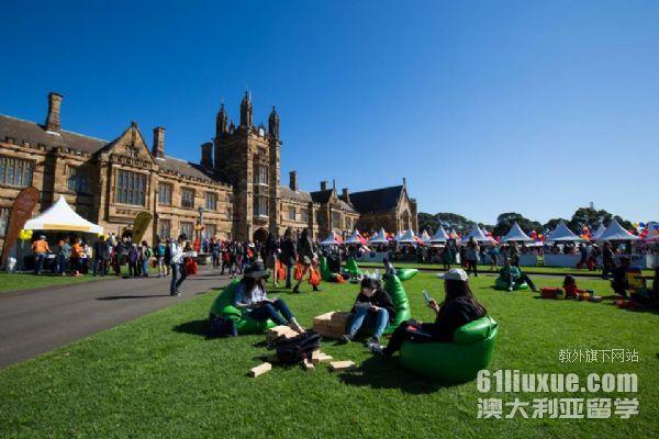 悉尼大学哪些专业好