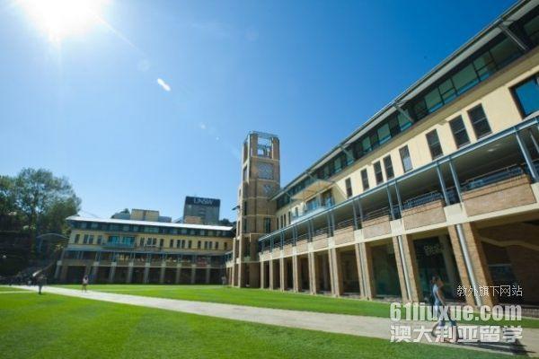 新南威尔士大学的生活费用