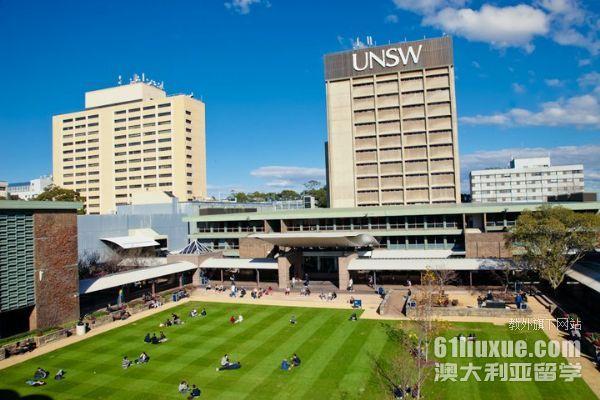 新南威尔士大学生活费用