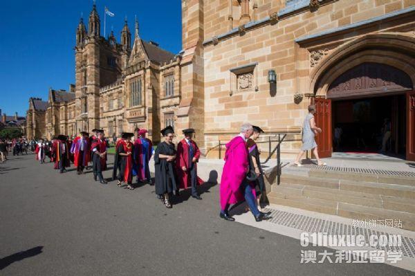 去悉尼大学读研的条件