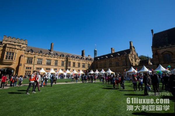 悉尼大学商科法学双学位